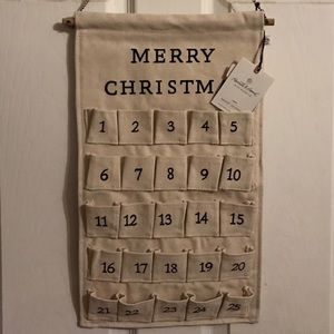 Hearth & Hand Cloth Christmas Advent Calendar